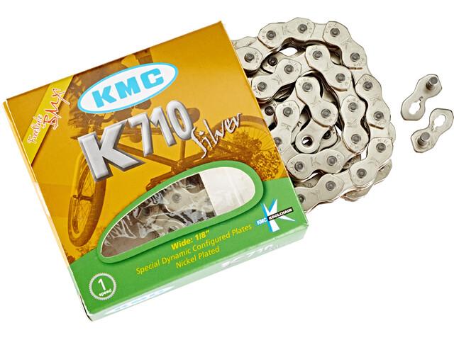 KMC K-710 Kette silver